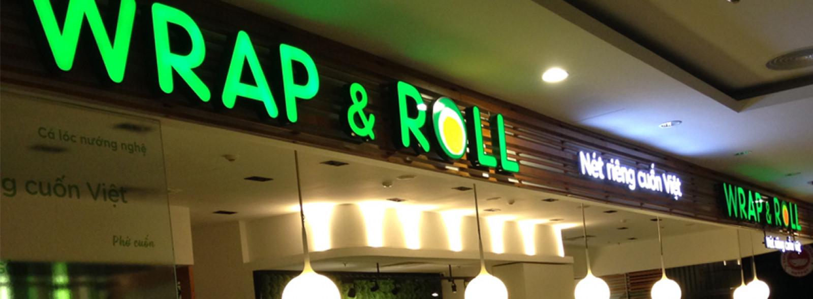 Biển hộp đèn hệ thống nhà hàng